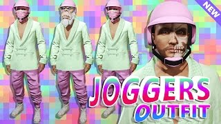 GTA 5 Online - OUTFIT TUTORIAL! PASTEL GP PLAYER! Cool Modded Pink Joggers Clothing (GTA 5 Glitches)