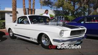 Ford Mustangs : Super Run Classic Car Show