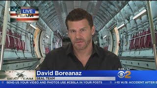 David Boreanaz Talks New Show 'Seal Team'