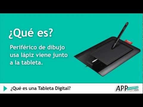 ¿Qué son las Tabletas digitales o  Tabletas Digitalizadoras? l APPinformatica.com