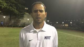 NJIT MSOC Interview w/ Didier Orellana vs LIU Brooklyn