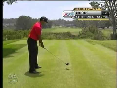 Tiger Woods' complete playoff of 2008 US open