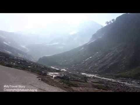 Beas River On the way to Rohtang pass