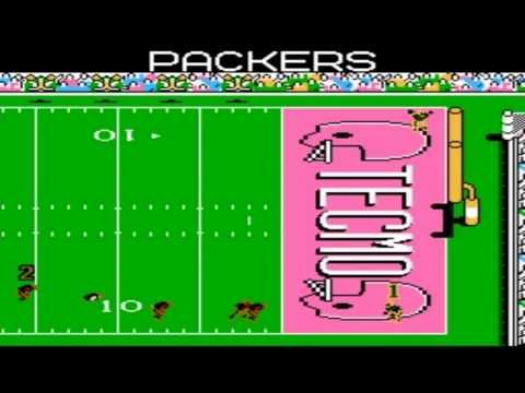 Tecmo Super Bowl 2012 (tecmobowl.org hack) - Tecmo Super Bowl 2012 (NES) Packers Week 1 - Vizzed.com GamePlay (rom hack) - User video