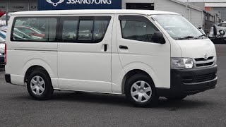 2010 Toyota Hiace Long Wheel Base 3000cc Turbo Diesel Automatic