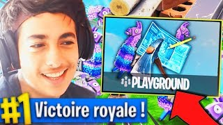 "MAINTENANCE À 10H ! LE RETOUR DU MODE ""TERRAIN DE JEU"" SUR FORTNITE BATTLE ROYALE ?!"