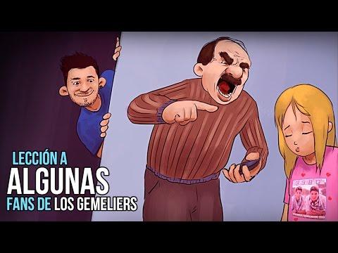 Lección a ALGUNAS fans de Los Gemeliers.