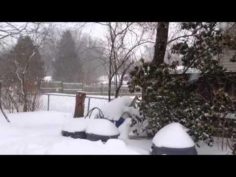 Blizzard Nemo Snowmageddon 2013 New England Merrimac, Massa