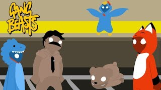 Gangbeasts with Fetty and Zork