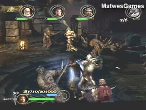 Lord of the Rings: The Return of The King (PS2) - 12 - The Black Gate [1/2]