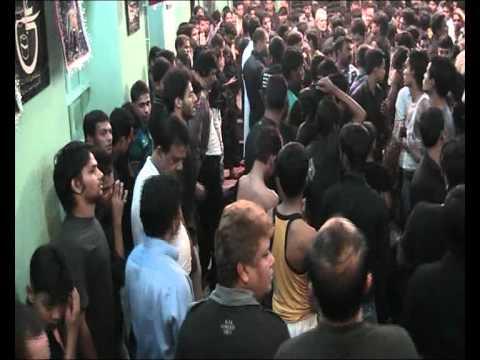 Halqe Ka Matam - 6th Moharram 1433 H - Golkothi - Kolkata Azadari 2011