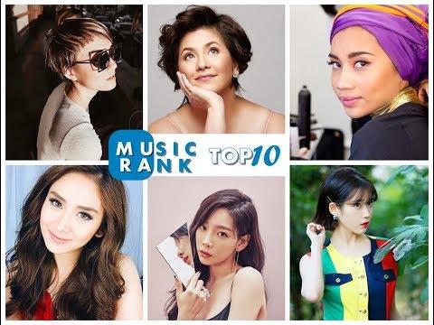 MUSIC RANK [[TOP 10]] FEMALE ASIAN SINGERS 2017