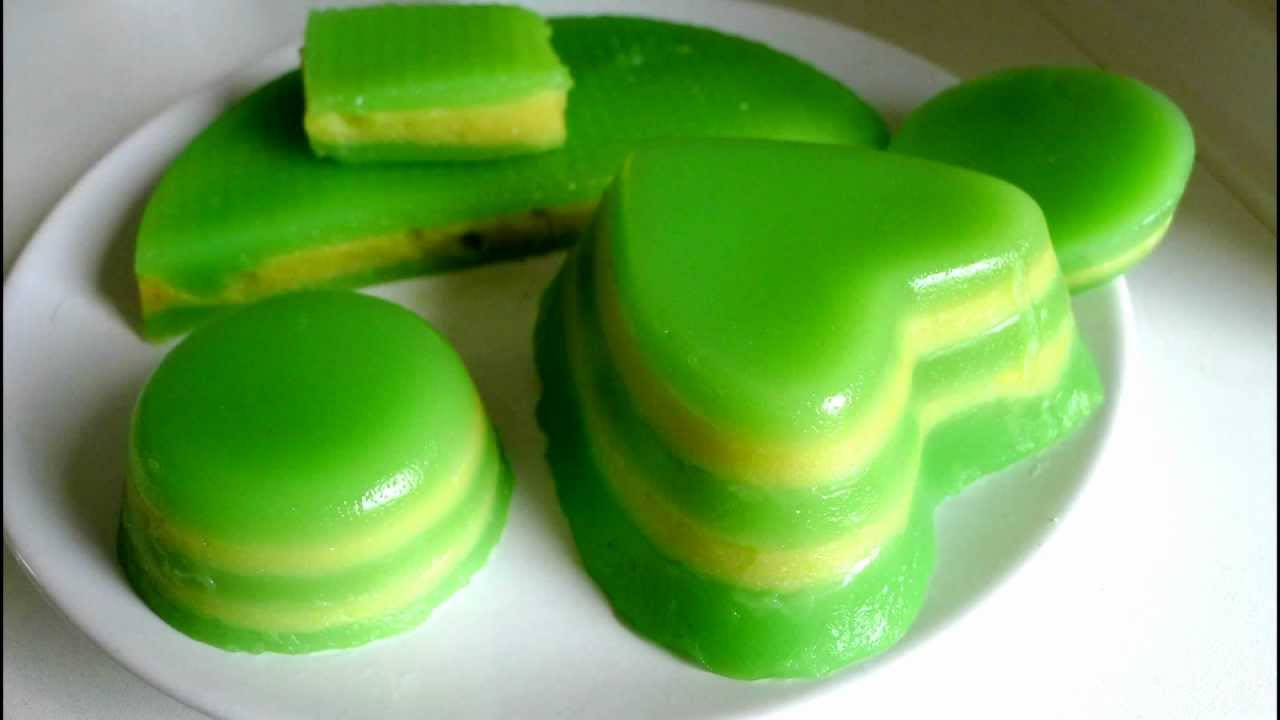 How To Make Pandan Layer Cake Video