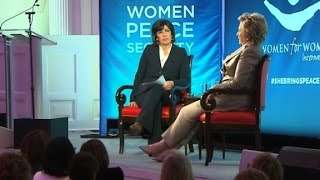 Clinton reflects on election loss (Full event)