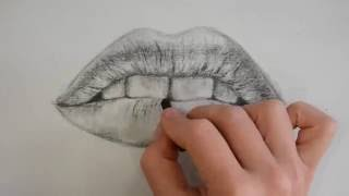 How to draw a mouth - with Di Carvalho