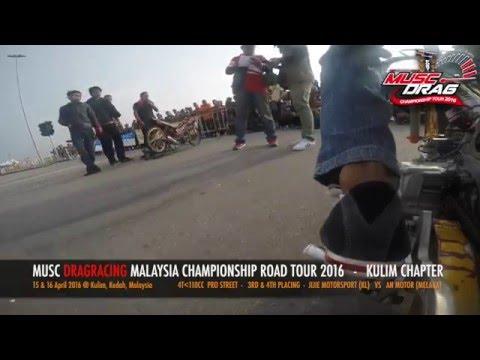 GoPro On Board 2 - Musc Drag Racing Kulim 2016