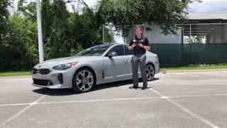 2019 Kia Stinger Review (Walk Around and Drive)