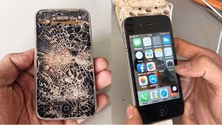 Restoration an abandoned IPHONE phone | Restore a 9-year-old IPHONE phone left in the trash