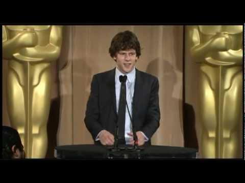 Jesse Eisenberg - Oscar Nominee Luncheon 2011