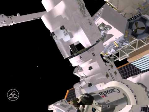 Dextre tops off the tank: The Robotic Refueling Mission (January 2013)