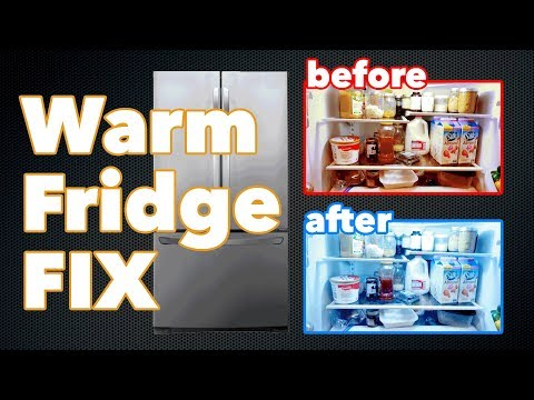 Troubleshooting An Lg French Door Refrigerator With A Warm