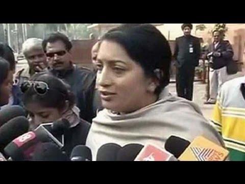No school on Christmas, says Smriti Irani, rubbishing newspaper report