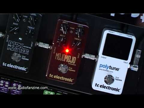TC ELECTRONIC   MOJOMOJO & DARK MATTER video demo [Musikmesse 2011]