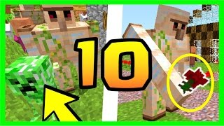 DID YOU KNOW THAT ? 10 SECRETS ABOUT THE GOLEM MINECRAFT