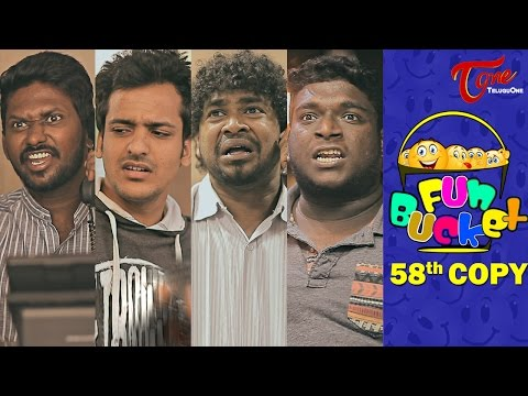 Fun Bucket | 58th Copy | Funny Videos | by Harsha Annavarapu | #TeluguComedyWebSeries