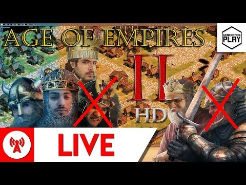 RTS with Isaac, Leigh, Matt and Dave - Age of Empires II HD