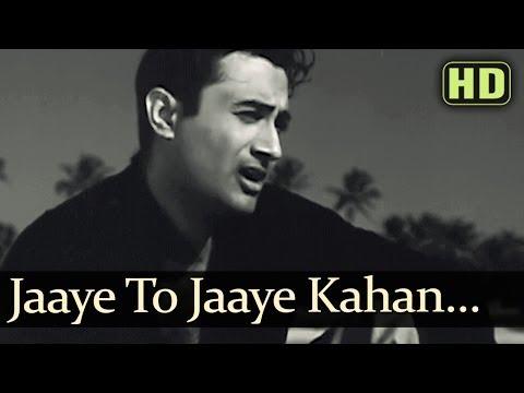 Jaayen Toh Jaayen Kahan - Dev Anand - Taxi Driver Old Hindi Songs - S.d.burman - Talat Mehmood video