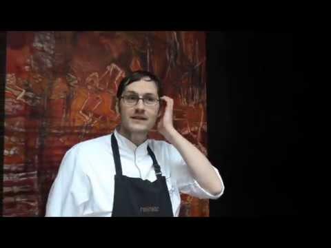 Achilles presents his Michelin star restaurant Reinstoff in Berlin