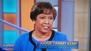 Judge Tammy Kemp CRIES on Tamron Hall Show
