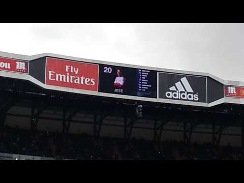 Real Madrid 3-0 Elche .Videomarcador jugadores del Madrid