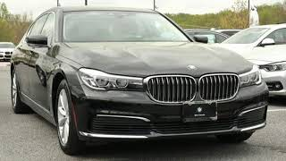 Used 2019 BMW 7 Series Baltimore MD Woodlawn, MD #4P0461