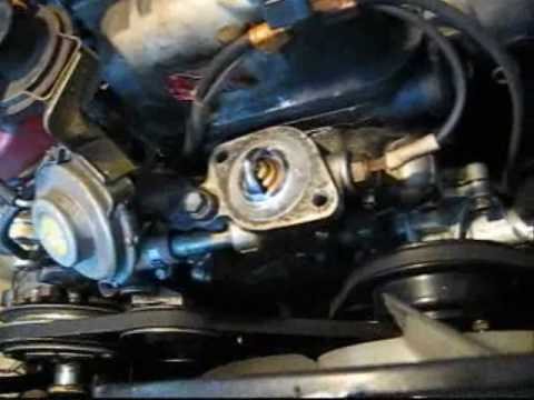 Toyota Corolla Radiator Replacement.wmv