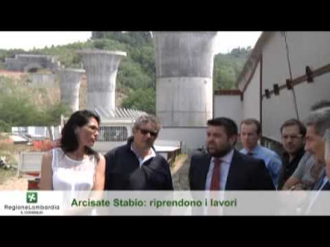 Sopralluogo del Presidente Cattaneo ai cantieri dell'Arcisate-Stabio