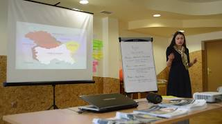 Ms. Yoana Barakova (Research Analyst EFSAS) on terrorism in South Asia during workshop in Poland