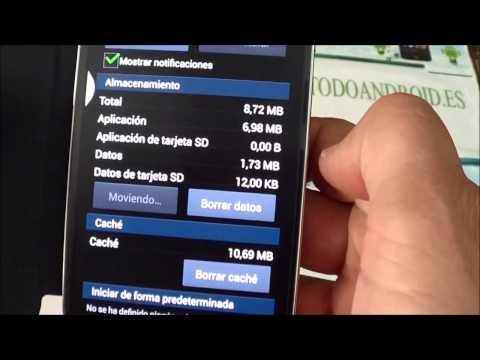 Mover aplicaciones a la memoria externa Micro SD con el Samsung Galaxy S4