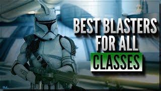 BATTLEFRONT II BEST BLASTERS FOR ALL CLASSES - Star Wars Battlefront 2