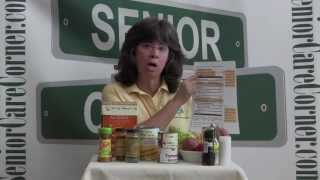 Cutting the Salt Habit - Senior Care Corner Family Caregiver Video Tips