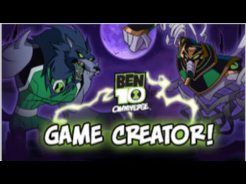 Cartoon Network Games: Ben 10 Omniverse – Game Creator [Full Gameplay]