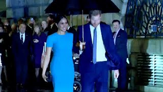 video: Prince Harry and Meghan Markle make first official UK engagement since split at Endeavour Fund Awards