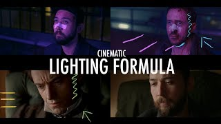 Hollywood Lighting Formula with Scene Recreations