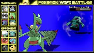 The Speedy Sceptile! (Pokemon ORAS UU Wifi Battle)