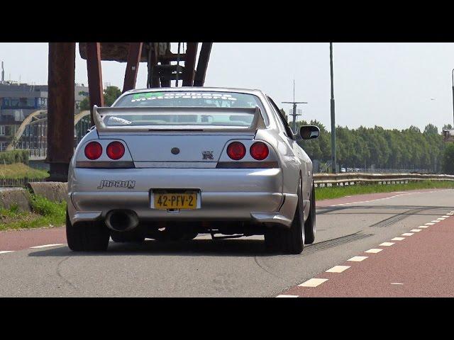 565HP Nissan Skyline GTR R33 V-Spec - Anti-Lag Sound ...
