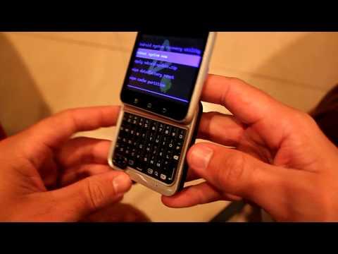 Motorola Flipout MB511 Hard reset
