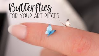 HOW TO - Doll Scale Butterflies