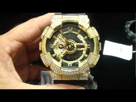 Mr Chris Da Jeweler Custom Real Casio G Shock with Iced Out Face $425.00 Only
