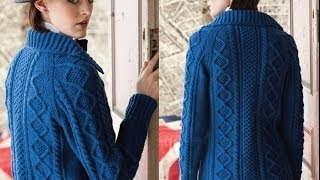 #1 Cabled Cardigan, Vogue Knitting Fall 2010